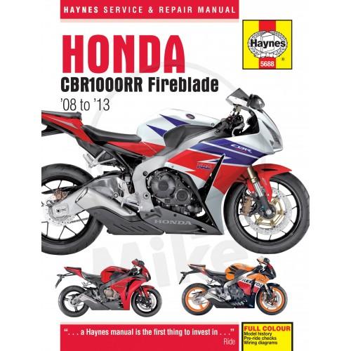 Manual Honda, util pentru toti posesorii de astfel de motociclete